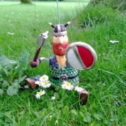 Leif the Viking marionette